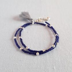 Tassel Wrap Bracelet - Matt...