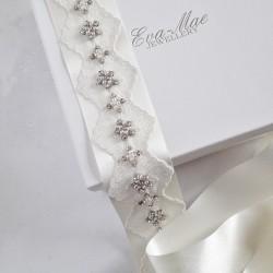 Wide Lace Detail Sash - Ltd...