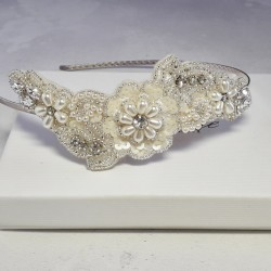 Flower Lace Hair Band -...
