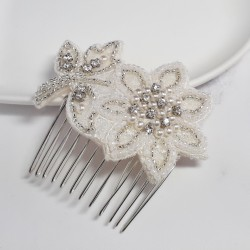 Flower Stem Applique Comb -...