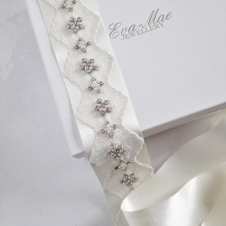 Wide Lace Detail Sash - Ltd...