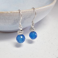 Sweetheart Earrings - Blue...