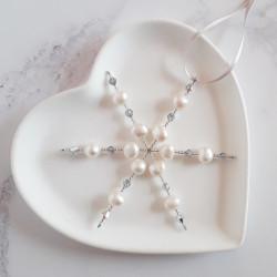 Freshwater Pearl Snowflake...
